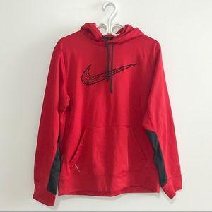 Nike hoodie sweater (red)